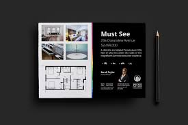 real estate agency flyer template for photoshop illustrator real estate flyer template