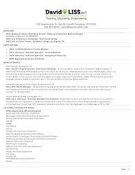 RVT resume Sample