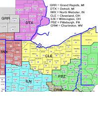 cleveland ohio zip code map beautiful of codes and  world maps