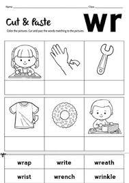 Phonics worksheets and free printable phonics workbooks for kids. No Prep Blend Word Wr Worksheet By Little Goldilocks Tpt