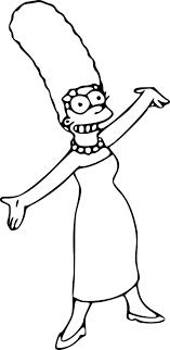 Coloriage Marge Simpson Imprimer Sur Coloriages Info