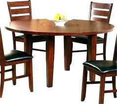 Round kitchen table with leaf Pedestal Base Drop Edicionesalmargencom Drop Leaf Round Dining Table The Diningroom