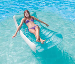 intex pool floats rockin inflatable lounge air mattresses 74 x39 beds swimming intex