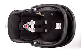 this is a great seat and very good looking i find that my baby is sweaty while in it though i figure it so snug and safe that it is hot