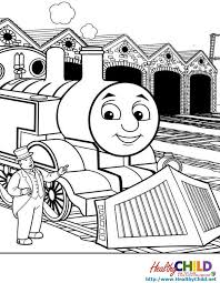52 Coloring Pages Thomas The Train Thomas The Train Coloring Page
