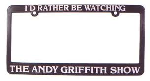 <b>I</b>'<b>d Rather Be Watching</b> The Andy Griffith Show Lice