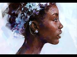 Digital Portrait Painting Painting A Digital Portrait In Photoshop Youtube