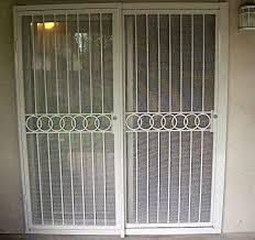 cozy design burglar bars for sliding glass doors cool patio door security with bar barn and home 7