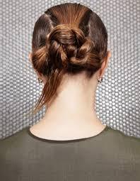 Coiffure Cheveux Mouill S Chignon Tress 15 Id Es De Coiffures Tresse Plate Cheveux