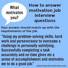 Motivation Interview Questions Top Interview Questions And Interview Answers