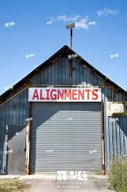 stock photo abandoned corrugated metal shed kit