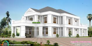exterior colonial house design. February 2016 Kerala Home Design And Floor Plans Florida British  Colonial Style House Exterior Colonial House Design P
