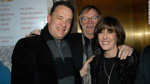 nora ephron prolific writer and filmmaker dies at age cnn tom hanks joins ephron and husband nicholas pileggi in 2003 for the opening night performance