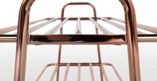 Shoe Rack Alana Shoe Rack Copper Madecom