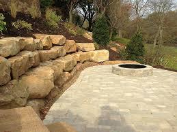 stone retaining walls perth cost natural wall