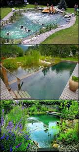 Natural swimming ponds, also called natural pools, are a wonderful way to  recreate nature