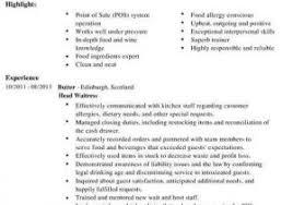 Bartender Resume Templates New Bartender Resume Sample Antique