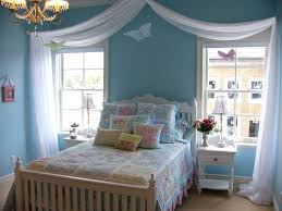 Paint Color For Bedrooms White Blue Wall Paint With Basket Ball Ring Plus Blue Bedding Bed
