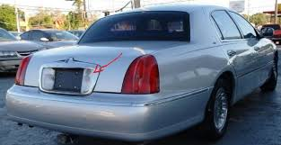 lincoln town car questions locked keys in trunk trunk button keyhole there to manually open up the car a spare key i m assuming you do have another set of keys if not definitely follow tenspeed s advice