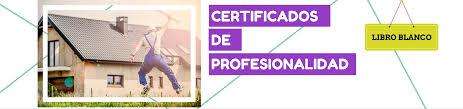 Libro Blanco De Los Certificados De Profesionalidad Grupo Femxa