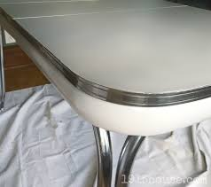 old formica table gets a fresh new look