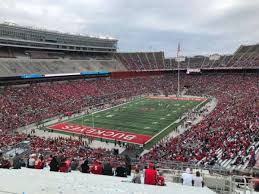 Ohio State Buckeyes Stadium Seating Chart Ohio Stadium Section 34b Home Of Ohio State Buckeyes