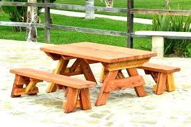 round picnic table plans free pdf large 2x6