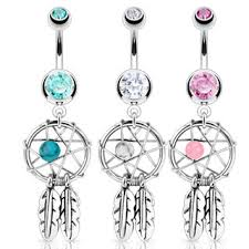 Dream Catcher Belly Button Rings Catcher Belly Button Ring 87
