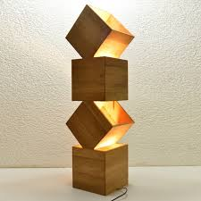 I Wood Design Danquen Xl 85cm Handmade Wooden Design Floor Lamp