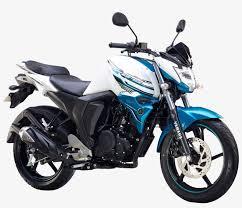 yamaha fz s fi white motorcycle bike