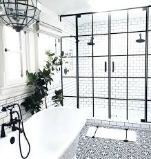 black and white bathroom black and white bathroom idea black white and gray bathroom rugs