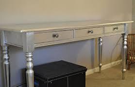 diy metallic furniture. Add Silver Leaf To Gild Furniture Diy Metallic