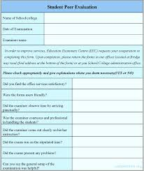 Student Feedback Form Template Word - Tier.brianhenry.co