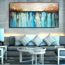 large wall canvas abstract painting large canvas art large from on large living room art extra large wall art blue and beige brown abstract painting  on extra large wall art teal with large wall canvas abstract painting large canvas art large from on