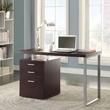 walmart office desk. coaster hilliard office desk in modern multiple finishes walmart