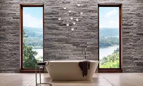 stone wall cladding interior textured decorative