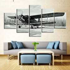 airplane canvas wall art 5 piece black and white airplane canvas painting wall art it make airplane canvas wall art  on airplane canvas wall art canada with airplane canvas wall art airplane canvas art flight canvas wall art