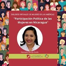 """Centro de Mujeres Americas on Twitter: """"#NoEsElCosto 📌 Conferencia  virtual: """"Participación Política de las Mujeres en Nicaragua"""" 👩🏫  Expositora Diputada Wendy Guido 🇳🇮 📆 16/04/2020 🕕 11:00a.m. hora de  Perú 💻 Aplicación"""