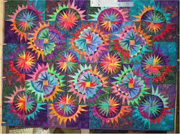 380 best New York Beauty Quilts images on Pinterest | Tutorials ... & Trip West (another New York Beauty quilt) - similar to the 4th of July Adamdwight.com