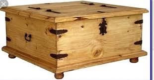 new mexican pine coffee table trunk