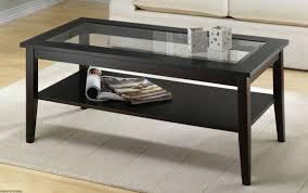 dark wood glass coffee table coffee table wood glass coffee tables round and square oval glass