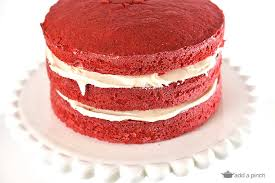 slice of birthday cake red velvet. Unique Red Red Velvet Cake Recipe To Slice Of Birthday