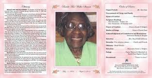 Free Obituary Program Template Picture Free Funeral Program