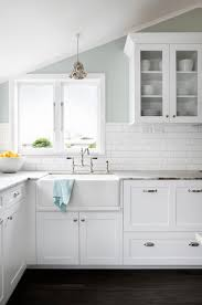 Floating Floors For Kitchens Kitchen All White Kitchen Minimalist White Floating Cabinets In