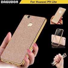 huawei kii l05 case. huawei p9 lite case bling cover flash gilded tpu soft silicone phone fundas thin glitter accessories kii l05