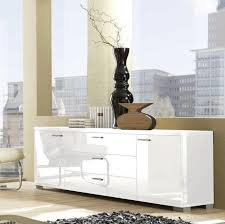 white buffet cabinet. Simple Cabinet Modern Buffet Table Dining Room With Cabinet Furniture Contemporary White  Table In B