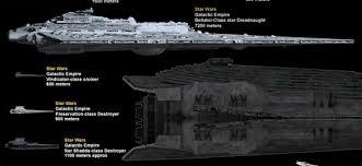 Massive Spaceship Size Comparison Poster Showcases Damn Near