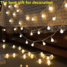 Us 8 31 30 Off Outside Garden Lights String Fairy Led Battery Powered 10m 100led Light 2018 Xmas Decorations For Home In Lighting Strings From