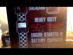old sears heavy duty engine starter battery charger part 1 old sears heavy duty engine starter battery charger part 1