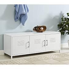 locker style storage. Exellent Style 48inch White Metal Locker Style Storage Bench To E
